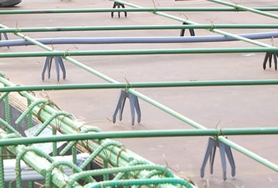 Whitacre Rebar bar supports for rebar structure