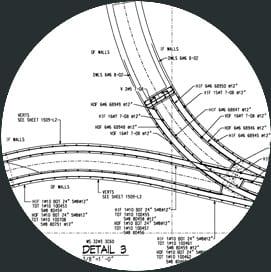 Whitacre Engineering rebar detailed drawing