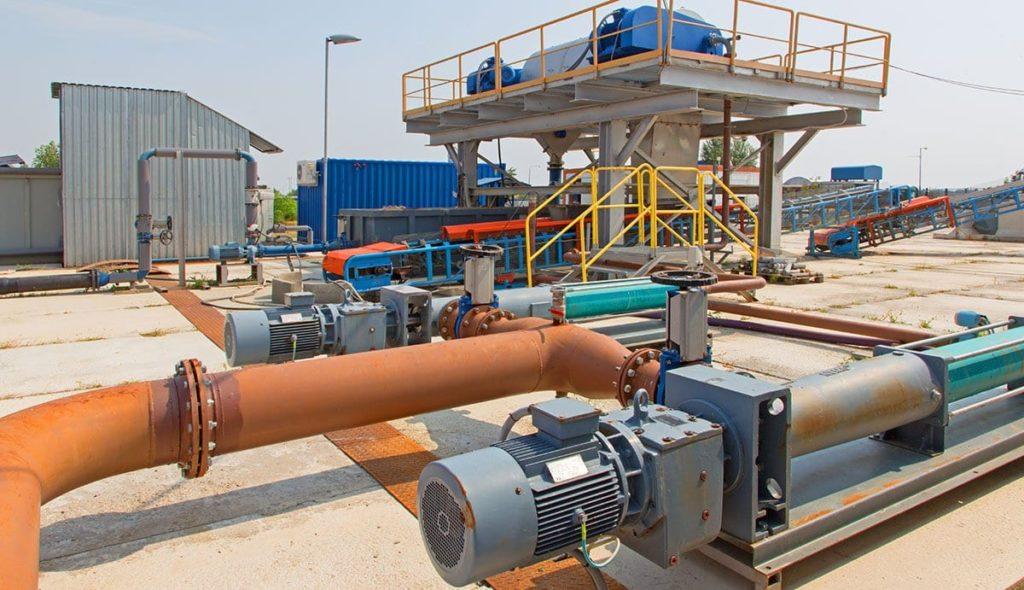 Dewatering facility
