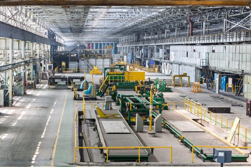 Warehouse for aluminum milling
