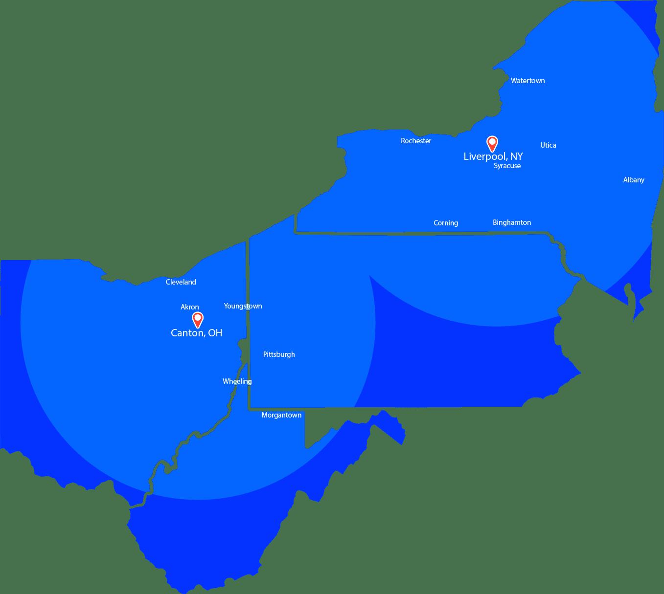 rebar service areas